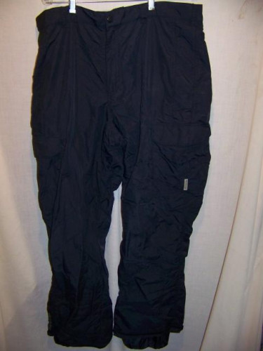 Columbia Shell Snowboard Ski Pants, Mens XLarge