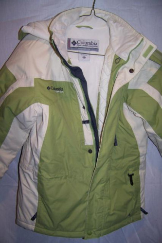 Columbia Insulated Snow Ski Jacket, Youth 10/12