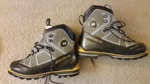 Millet Radikal Pro ice climbing boots size - 11.5