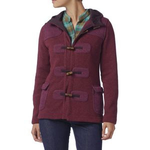 Better Sweater Icelandic Coat - Women's Isle Of Skye/Oxblood Red, L -