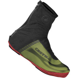 Estremo 2 Shoe Covers Black/Yellow Fluo, XL - Like New