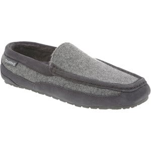Peeta Slipper - Men's Charcoal/Grey Boiled Wool, 10.0 - Excellent