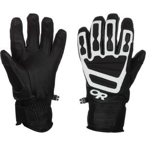 Mute Sensor Gloves - Men's Black/White, M - Excellent