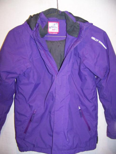 Helly Hansen Winter Snow Ski Jacket, Girls 12