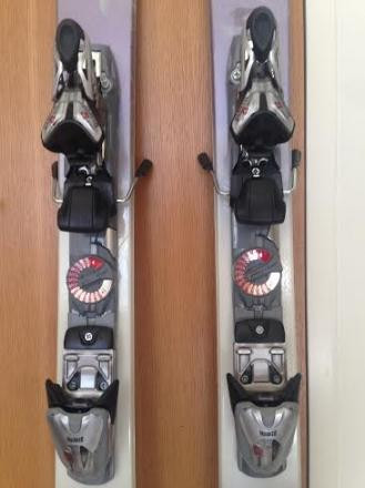 K2 T9 Phat Luv Skis with Marker 120 Bindings