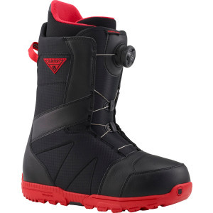 Highline Boa Snowboard Boot - Men's Black/Red, 10.5 - Like New