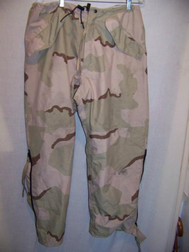 US Army Gore-tex Rain Overpants, Medium Regular