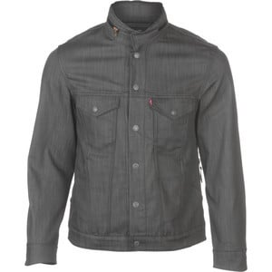 Commuter Trucker Jacket - Men's Grey Denim 3XDRY, XL - Like