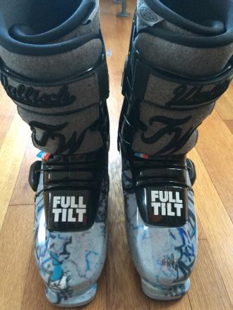 Full Tilt Tom Wallisch Pro Ski Boots 2014 - 29.5