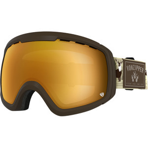 Feenom N.L.S. Goggles 3 Bucks- Brown/Copper Chrome-Bonus Yel