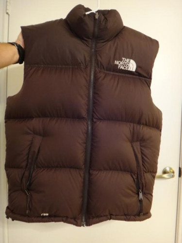 The North Face Nuptse Down Vest - Mens LG,  YR2007