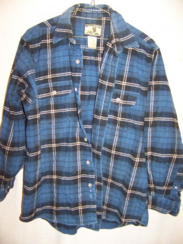 Field & Stream Heavy Flannel Cotton Shirt XLarge