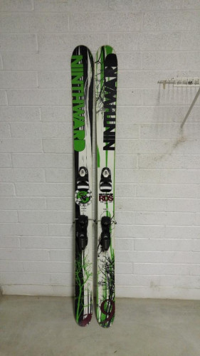 Ninthward RDS Pro 178cm + Rossignol Axial2 12-Din Bindings