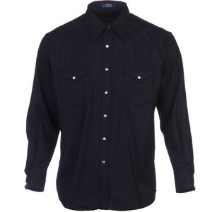 Canyon Shirt - Long-Sleeve - Men's Navy, M - Excellent
