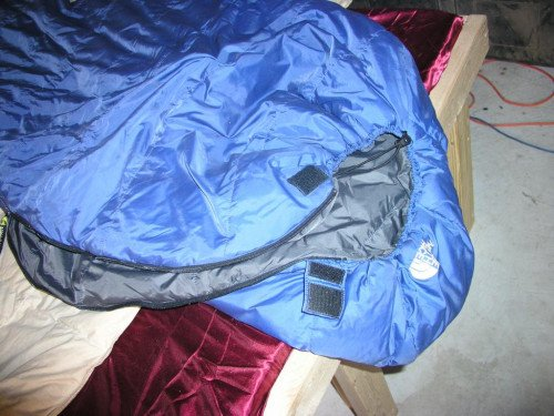 The North Face Thunderhead 3 D sleeping bag LONG