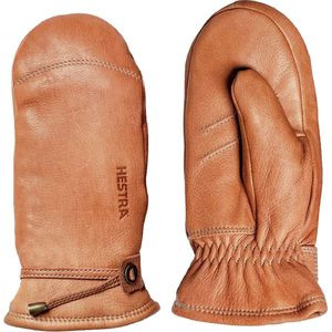 Deerskin Lambfur Mitten - Women's Cork, 8 - Like New