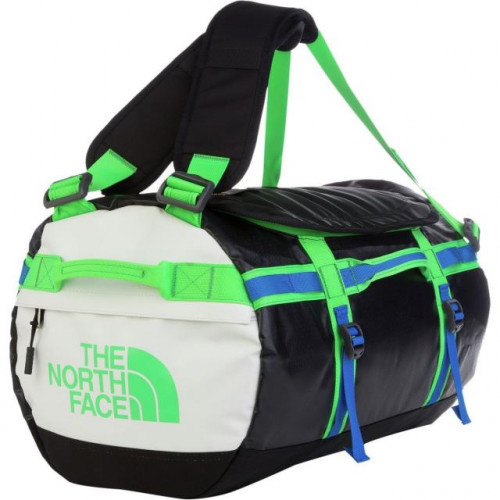 The North Face Base Camp Duffel Bag - Large - TNF Black/Krypton Green