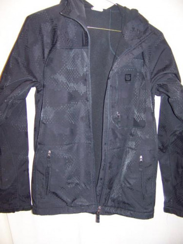 Burton Softshell Hooded Jacket, Mens Medium