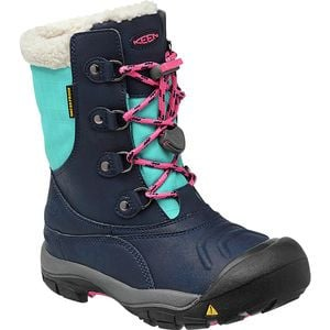 Basin WP Boots - Girls' Dress Blues/Camellia Rose, 5.0 - Good