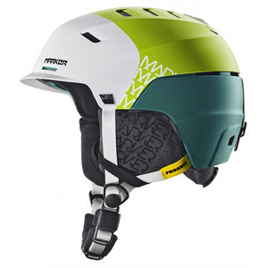 Phoenix Otis Helmet 3 Block White/Green, L - Good