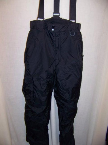 Sport Essentials Snowboard Ski Bibs Pants, Mens Medium