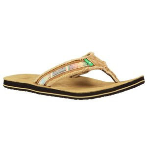 Fraid So Sandal - Men's Tan/Multi, 8.0 - Like New