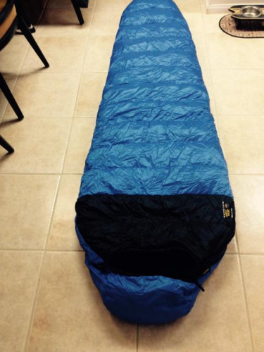 Mountain Hardwear Galaxy down sleeping bag