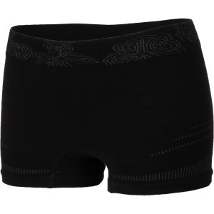PhD Seamless Boy Short - Women's Black, L - Excellent