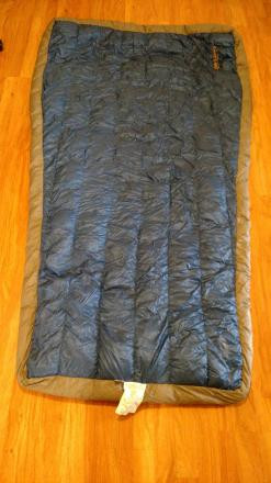 Brooks-Range Cloak 30 down quilt