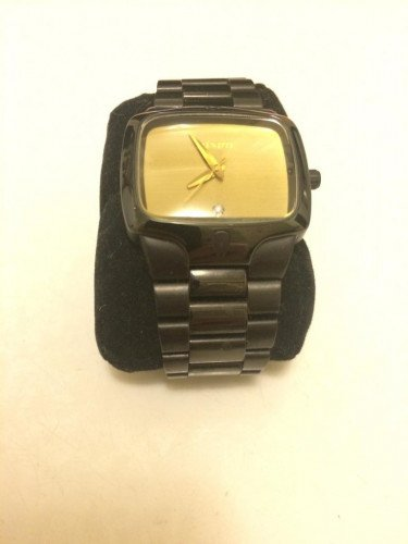 Nixon The Player Watch Black & Gold