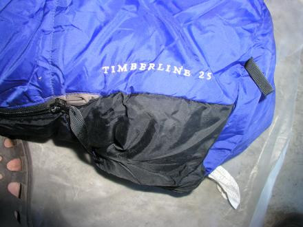 E M S Timberline Snythetic Sleeping Bag