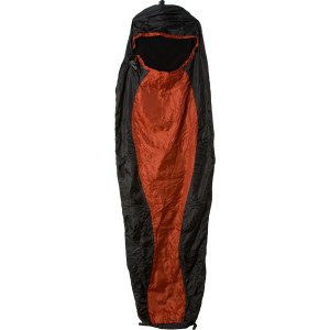 Razor Fleece Sleeping Bag/Liner Rust/Black, One Size - Excel