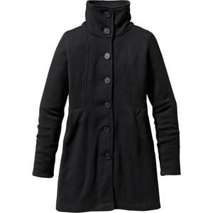 Better Sweater Fleece Coat - Women's Black, M - Good