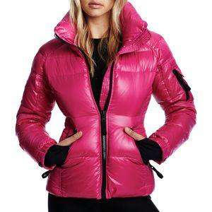 Freestyle Down Jacket - Women's Raspberry, S - Excellent