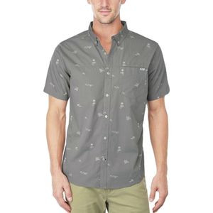Reef Skipadot Shirt - Short-Sleeve - Men's Charcoal, XXL - Excellent
