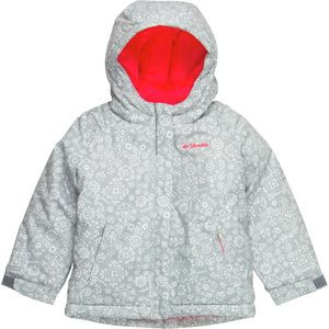Horizon Ride Jacket - Toddler Girls' Earl Grey Print, 4T - Excellent