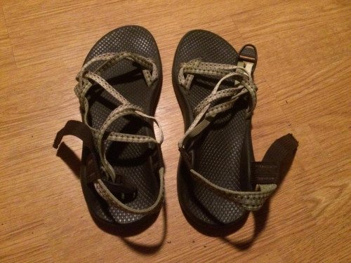Women's Chacos US size 8 double strap
