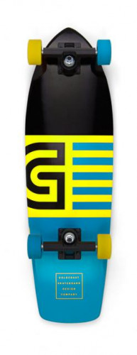 GOLDCOAST Jetty Blue Cruiser Skateboard Complete