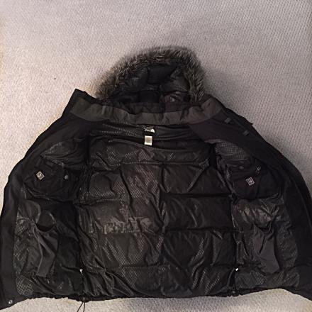 Black North Face Parka for men
