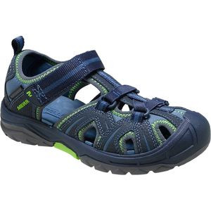 Hydro Water Shoe - Little Boys' Navy/Green, 1.0 - Like New