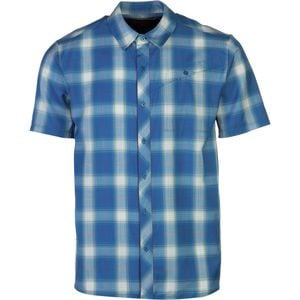Departure Shirt - Short-Sleeve - Men's Petrol, XXL - Like New
