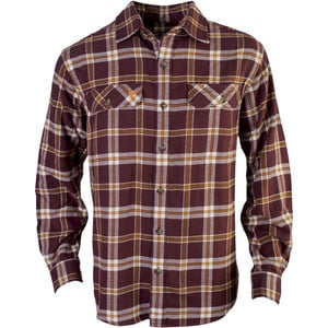 Chagrin Flannel Shirt - Long-Sleeve - Men's Maroon, M - Like New