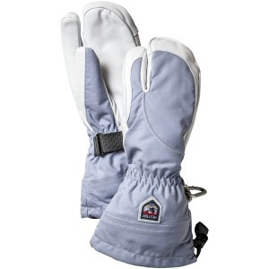 Heli 3-Finger Glove - Women's Ice Blue/Off White, 7 - Like New