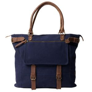 Cameron Pocket Tote Navy, One Size - Like New