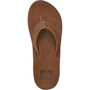 Grand Turk Flip Flop - Men's Brown/Red, 9.0 - Good