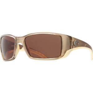 Blackfin Polarized Sunglasses - Costa 580 Polycarbonate Lens Crystal B