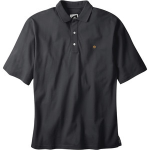 Bison Polo Shirt - Men's Black, XL - Like New