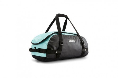 Thule Chasm Duffel Bag, Small, Mint, with backpack straps