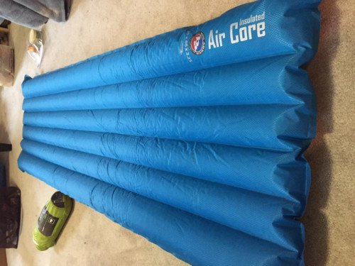 Big Agnus Air Core sleeping pad 20x66x3.25