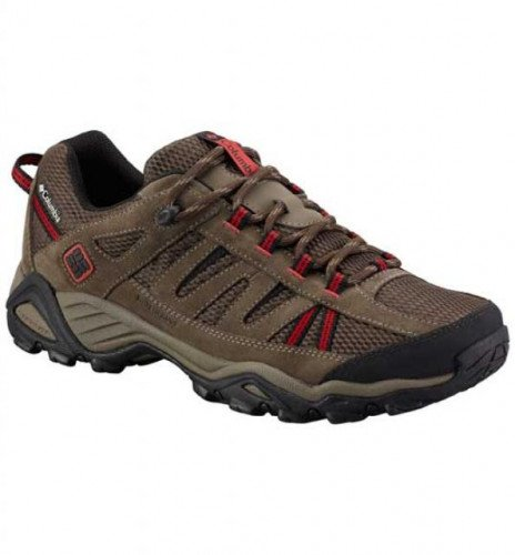 Columbia North Plains WP Trail Shoes Wide Width - Men's